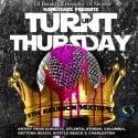 Turnt Up Thursday mixtape cover art