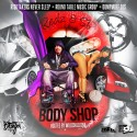 Wheelchair Redz & S.R. - The Body Shop mixtape cover art