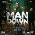 Yung Gwapa - Man Down (Purge Edition) mixtape cover art