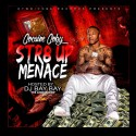 Cocaine Coby - Str8 Up Menace mixtape cover art