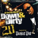 Down & Dirty 20 (Hosted by Project Pat) mixtape cover art
