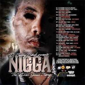 DJ Bobby Black › Nas - Nigga (Listen or download full mixtape free)