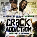 Plies & Lil Boosie - Crack Addiction mixtape cover art