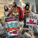 Large On Da Streets 10 mixtape cover art