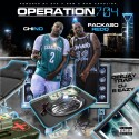 Packaso Redd & Chino - Operation 704 mixtape cover art