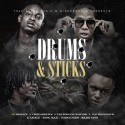 Drums & Sticks mixtape cover art