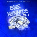 Blue Hunnids 2  mixtape cover art