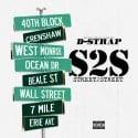 D Strap - Street 2 Street mixtape cover art
