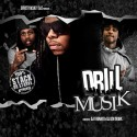 Drill Musik mixtape cover art