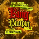 King Pimpin - King Pimpin Vol. 1 mixtape cover art