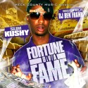 Slim Kushy - Fortune Ova Fame mixtape cover art
