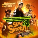 Stay Smokin 24 mixtape cover art