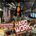 TG Montana - Hard Work mixtape cover art