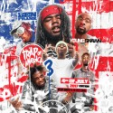 Trap Of America 3 (4th Of July Edition) mixtape cover art