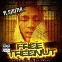 YL Stutter - Free Teenut mixtape cover art