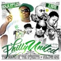 Philly United - The Sound Of The Streets, Vol. 1 mixtape cover art