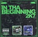 In Tha Beginning 2K7 (2 CD) mixtape cover art