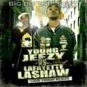 Young Jeezy vs. Lafayette Lashaw mixtape cover art