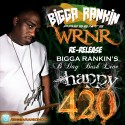 Bigga Rankin' B-Day Bash Live @ Club Plush - 2006 (Happy 420) mixtape cover art