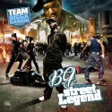 B.G. - The History Of A Street Legend mixtape cover art