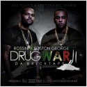 Boston George & Boo Rossini - Drug War 2 mixtape cover art