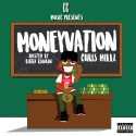 Chris Millz - MoneyVation mixtape cover art