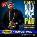 Dirty Dave - 1000 Ways To Get Paid mixtape cover art