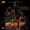 HDTV - #FIKR No Fluke mixtape cover art