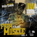 JW - Get It From The Muscle 4 mixtape cover art