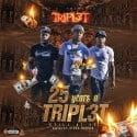 Tripl3t - 25 Years A Tripl3t (Still At It) mixtape cover art