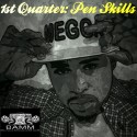 Megga - 1st Quarter (Pen Skills) mixtape cover art