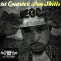 Megga - 1st Quarter (Pen Skills) mixtape cover art