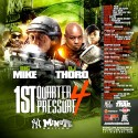 1st Quarter Pressure 4 (NY Minute) mixtape cover art