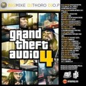 Grand Theft Audio 4 mixtape cover art