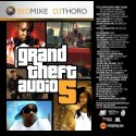 Grand Theft Audio 5 mixtape cover art