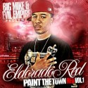 Eldorado Red - Paint The Town Red, Vol. 1 mixtape cover art