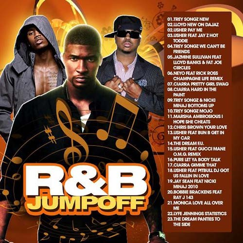 R&#038;B Jumpoff Mixtape/></p> <p><object width=
