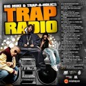 Trap Radio mixtape cover art