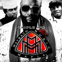 Triple M's (Rick Ross, Meek Mill & Wale) mixtape cover art