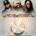 No Turnin' Down mixtape cover art