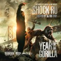 Shock Ru - Year Of Da Gorilla mixtape cover art