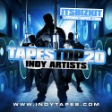 Tapes Top 20 Indy Artists mixtape cover art