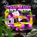 Pacman & Kenwood Kendall - Trapmania mixtape cover art