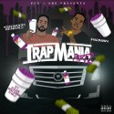 Pacman & Kenwood Kendall - Trapmania Pt. 2 mixtape cover art
