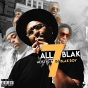 All Blak 7 mixtape cover art