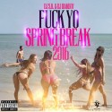 F*ck Yo Spring Break 2016 mixtape cover art