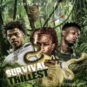 Survival Of The Trillest 5 mixtape cover art