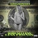 J Diamondzz - More Success, Less Friends mixtape cover art