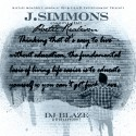 J.Simmons - Poetic Realism mixtape cover art
