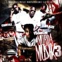 Murda Musik 3 mixtape cover art